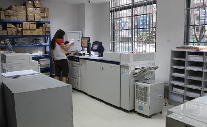 畅印图文专业的打印技术