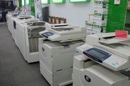 畅印图文先进的设备