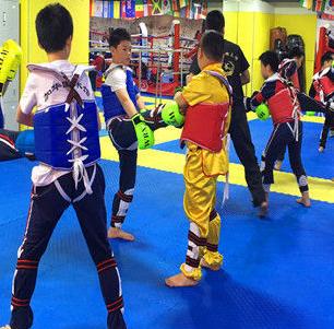 金龙少儿武术培训拳击