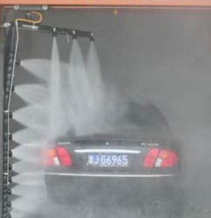 水斧全自动洗车机洗侧面
