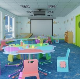 百朗教育机构玩具室