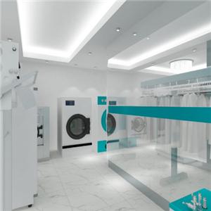 施奈尔洗衣店店面