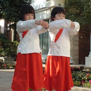 山大国学班礼仪练习