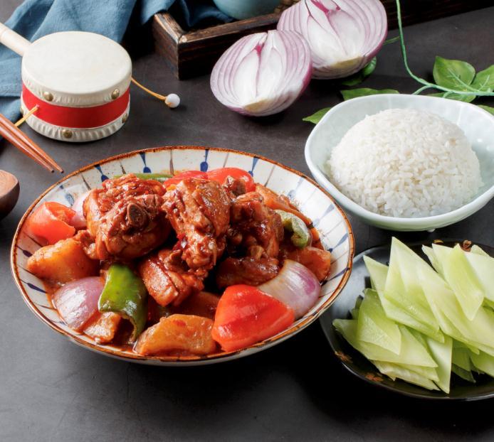 一鸣唐新疆大盘鸡外卖堂食产品6