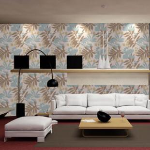 长堤墙纸客厅墙纸