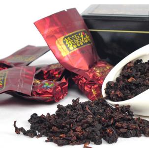 长南茶业红茶的细节