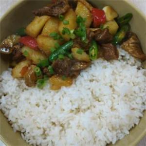 大碗饭快餐黄焖鸡