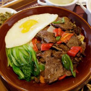 大碗饭快餐五香牛肉
