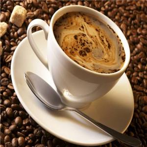 真品咖啡白色
