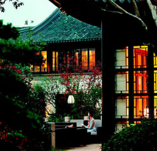 西子湖四季酒店金沙厅布局