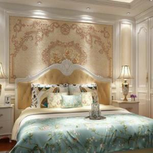 皇家蓝集成墙板装饰温馨