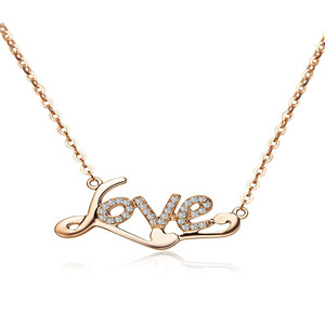 LOVE LOVE珠宝项链