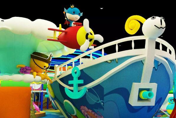 大堡礁儿童乐园加盟