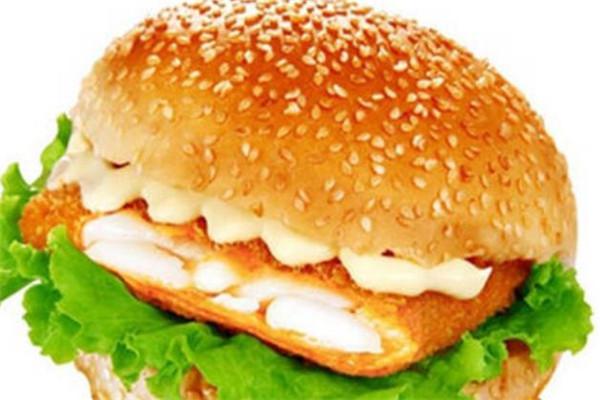 麦好乐炸鸡汉堡效果图
