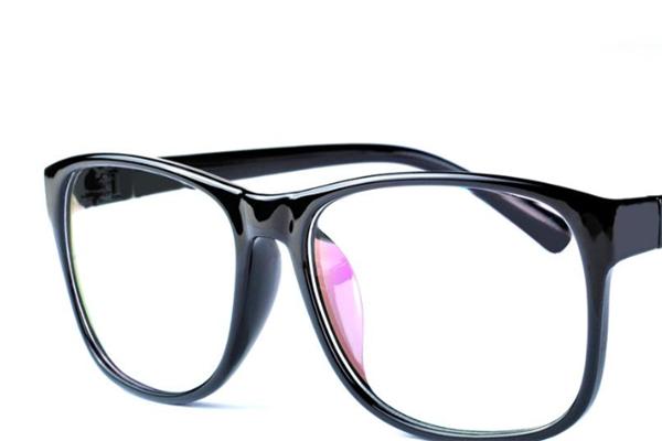 野亮眼镜黑色眼镜框
