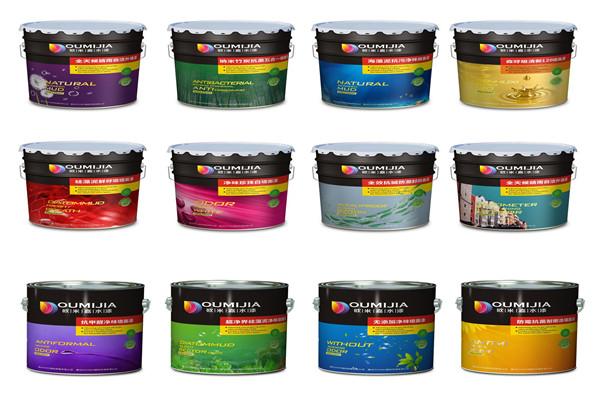 欧米嘉水漆品种繁多