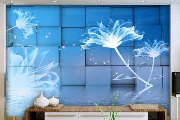 新思路5D玻璃背景墙加盟
