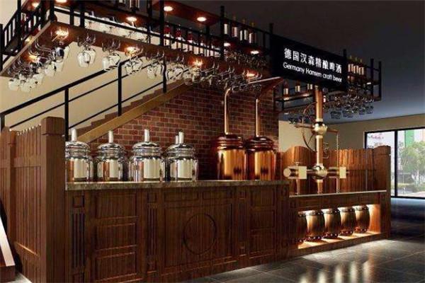德国汉森精酿啤酒屋前台