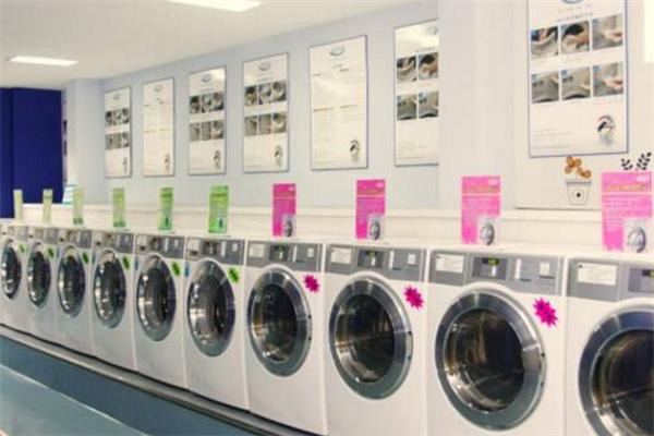 洁晨士自助洗衣洗衣机