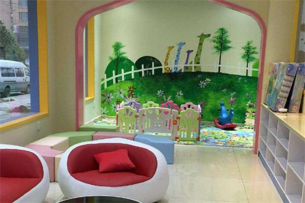 小熊之家孕婴童生活馆阅读区