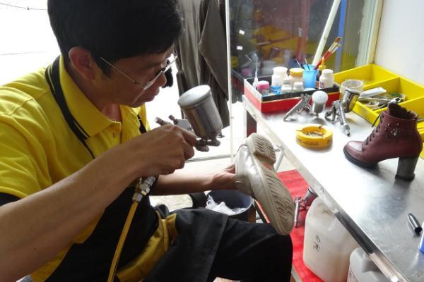 比潔仕洗鞋修飾連鎖企業很好