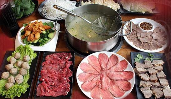 领鲜潮牛牛肉火锅实物