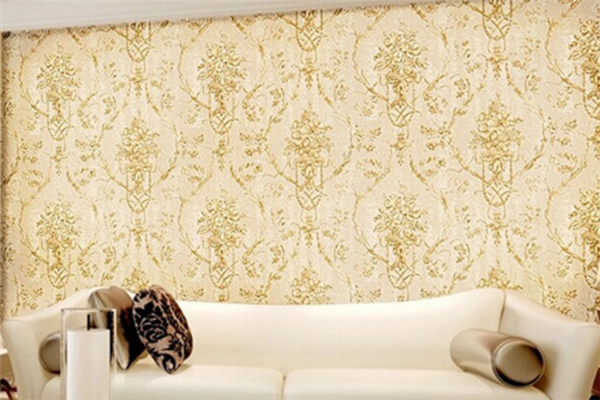 龙世杰沙发背景墙纸