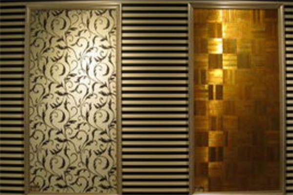 长堤墙纸的展示厅