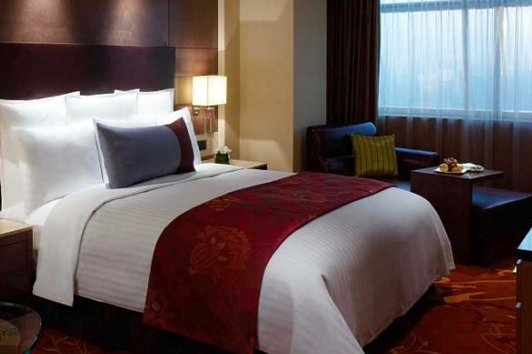 万豪国际酒店床