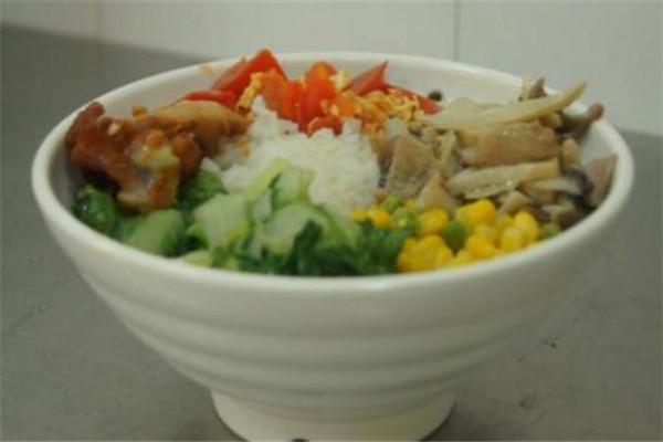 大碗饭快餐玉米