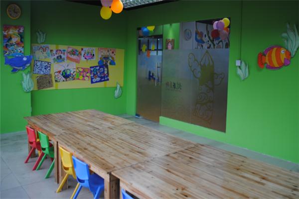 艾涂图国际儿童美术中心室内