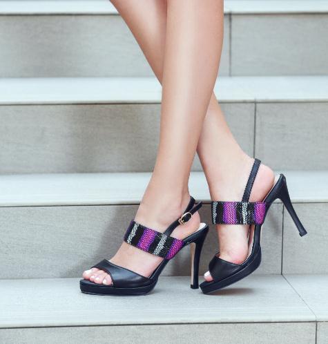 摩熙米昵女鞋模特2
