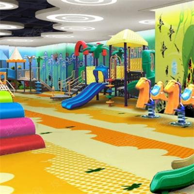 虫洞儿童中心娱乐区