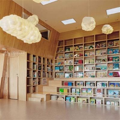 虫洞儿童中心图书区