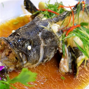 海鲜鱼市美味
