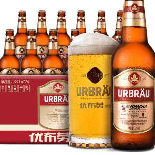 优步劳啤酒小麦淡白熟啤
