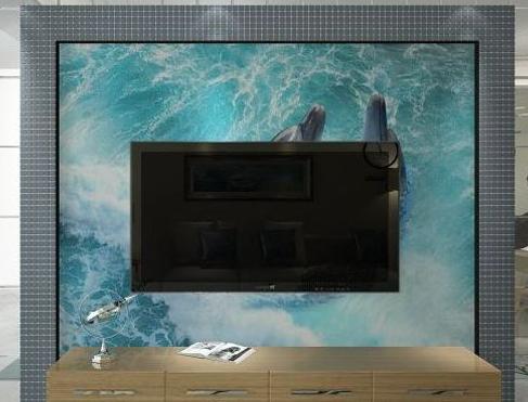 价格实惠的海意电视背景墙