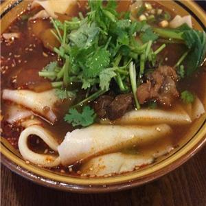 秦正biangbiang面香菜