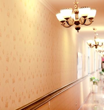 金豆寶貝月子會所干凈整潔的走廊