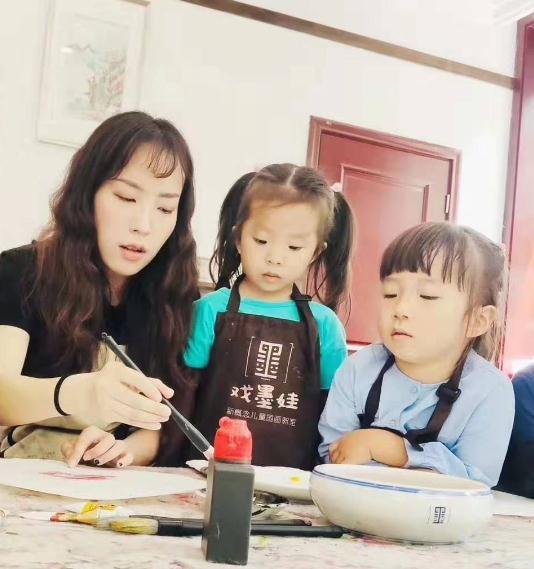 戏墨娃儿童国画课堂1