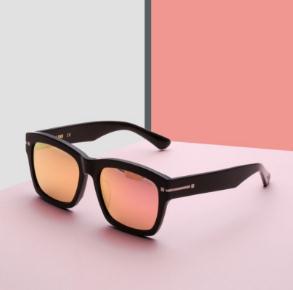 logo眼镜宣传