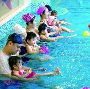 蓝旗婴儿游泳馆环境