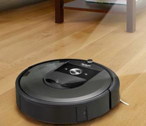 irobot扫地机器人展示