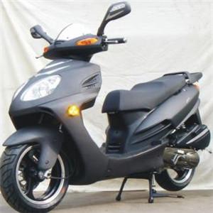 嘉爵摩托車黑色摩托