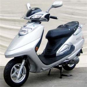 嘉爵摩托車白車
