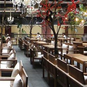 萬紫千紅休閑咖啡店鋪