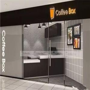 连咖啡CoffeeBox店面