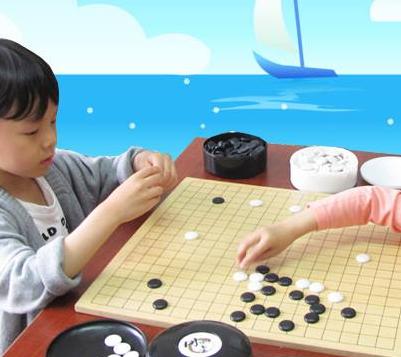 同雅堂少兒圍棋練習