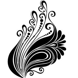 森木窗饰凤尾