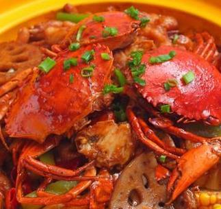 蟹解元肉蟹煲